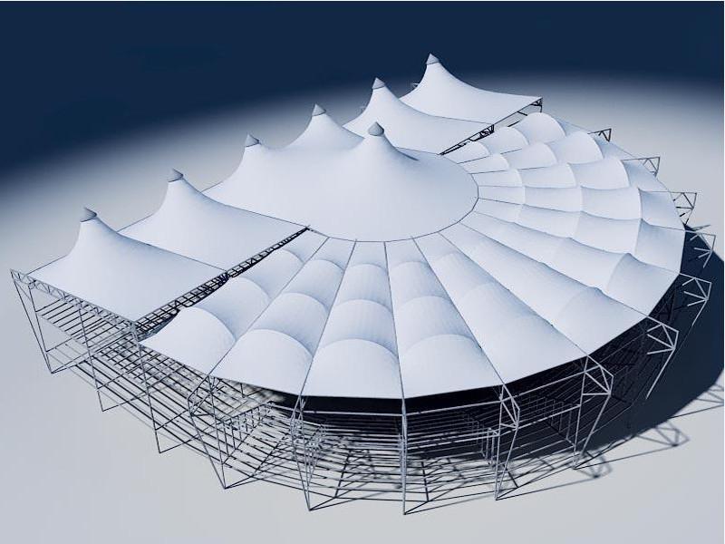 Комбинированная мембранная конструкция