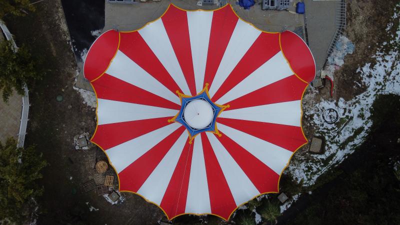 Стационарный цирк 350 м.кв., г.Сочи - 2021г.